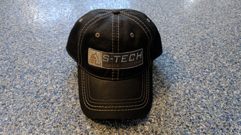 STECH Official Hat <br> Adjustable Fit <br> Dark Olive