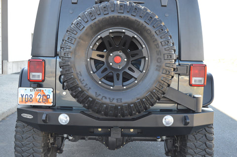 RIGID REAR BUMPER/TIRE CARRIER