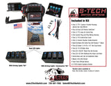 S-TECH 4 Switch System   Jeep JK Custom Housing <br> Plug/Play wire harness </br>  # STECH-4 <br>