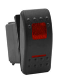 Rocker Switch Dual LED ... Choose Color <br>5 post terminal