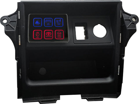 TTO Toyota 4-Runner <br>Dash Cubby Adapter  <br> Pro Comp SS-Six