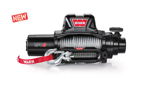 WARN VR EVO8 WINCH W/ STEEL CABLE - #103250