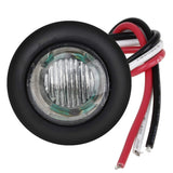 "3/4"" LED Marker Lamp <br>  3-Wire <br>  Clear / Red"
