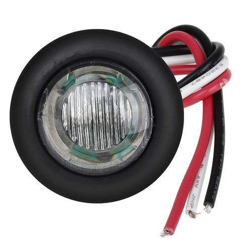 "3/4"" LED Marker Lamp <br>  3-Wire <br>  Clear / Color"
