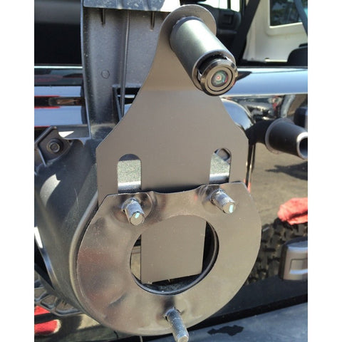 JEEP JK Spare Tire Mounting Bracket with PCAM-220 Camera