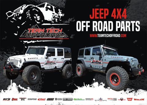 Team Tech Offroad Poster