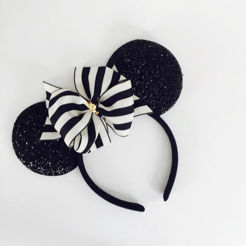The Posh Society Stripe Mouse Ears