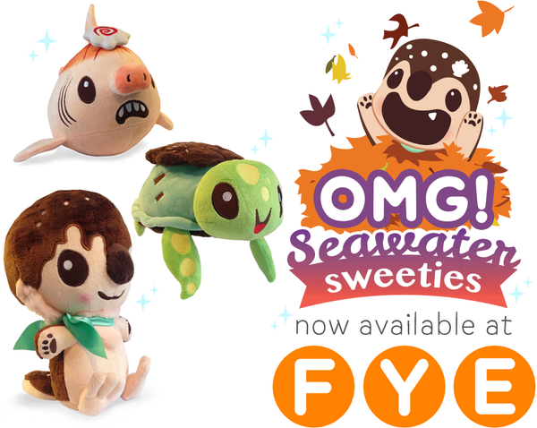 inki-Drop plush available at FYE!