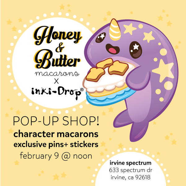 Honey & Butter Collaboration + Pop-Up -Shop!
