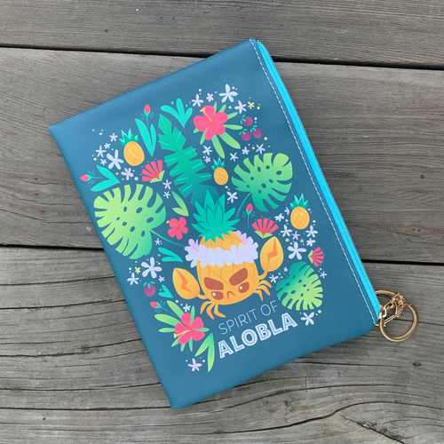 Alobla Pineapple Crab Pouch