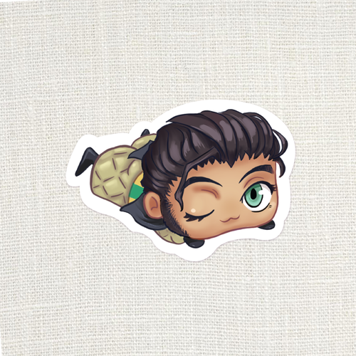FE3H Slug Claude Sticker