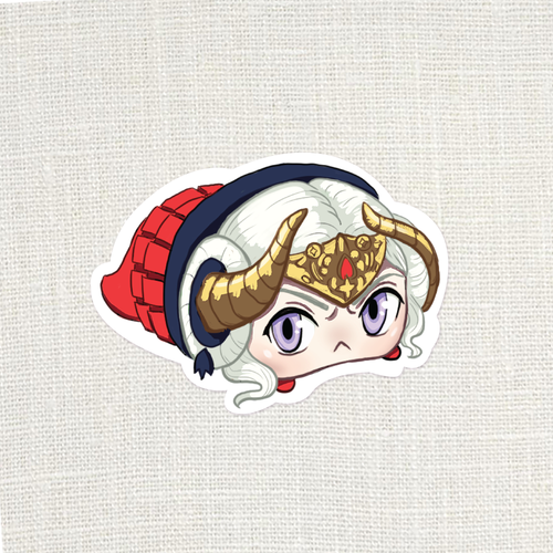 FE3H Slug Edelgard Sticker