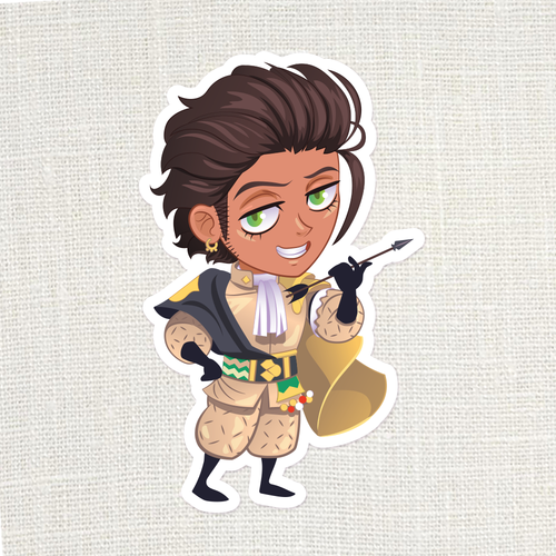 [FE3H] Claude Timeskip Sticker