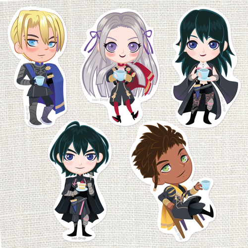 Fire Emblem Three Houses Perfect Tea Time Stickers