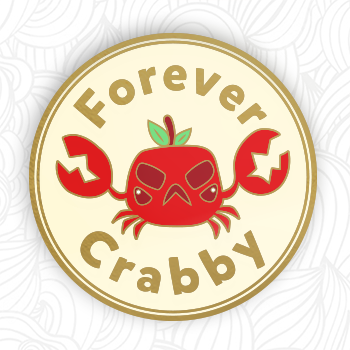 Forever Crabby Pin