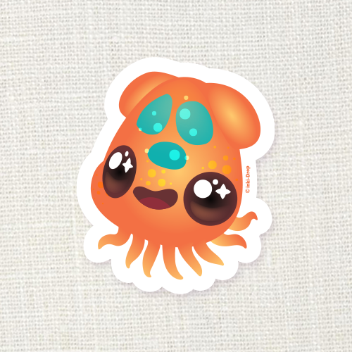 Gummy Ika Sticker