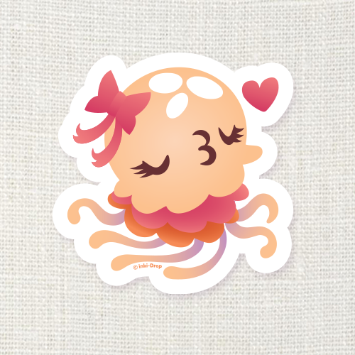Jellyblub Sticker