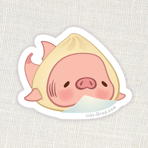 Pork Bun Konbini Sticker