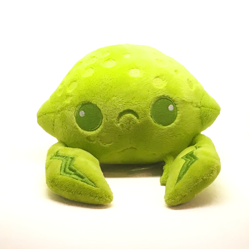 Lime Crab Plush