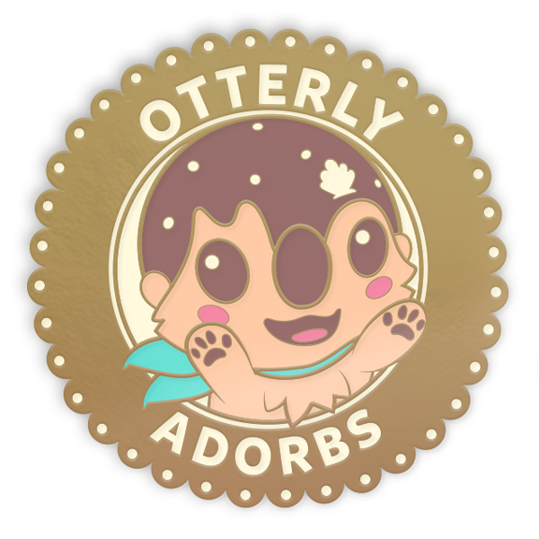 Otterly Adorbs Pin