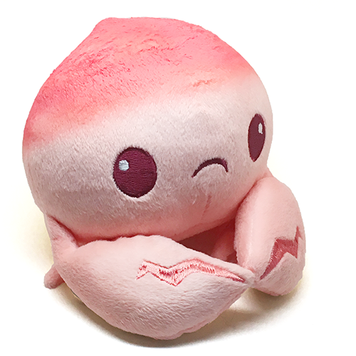 Peach Crab Designer Plush Toy