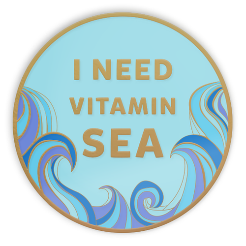 I Need Vitamin SEA Pin