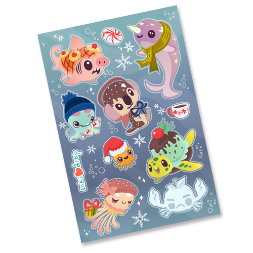 Winter Sticker Sheet