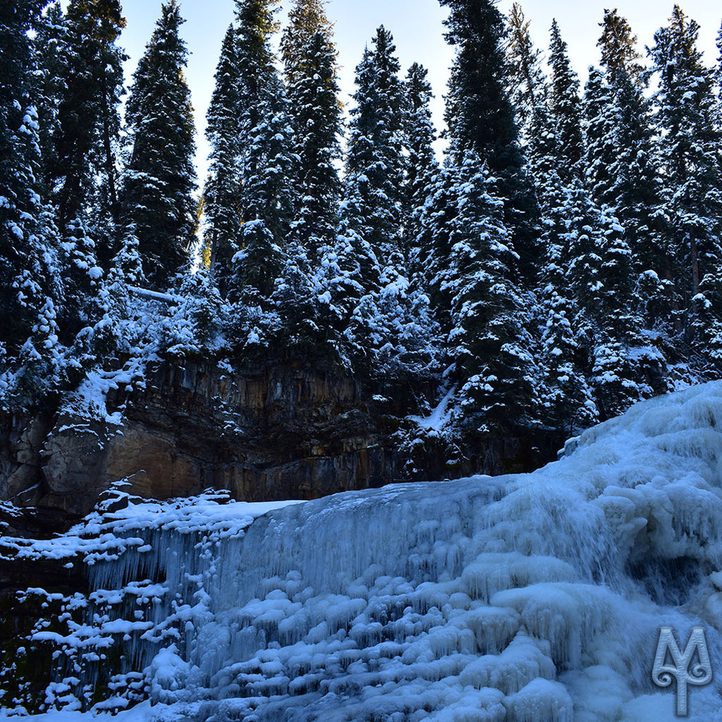 Winter's Frozen Ousel Falls