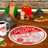 Shop The Gallatin River Collection of apparel, cabin decor, and home accessories by Montana Treasures