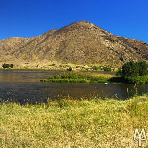 September on the lower Madison River, photo by Montana Treasures