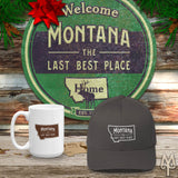 Shop the Montana The Last Best Place Collection of apparel, cabin decor, and accessories