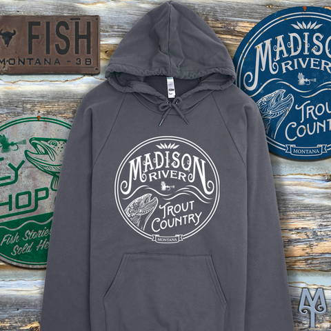 Shop Montana Treasures Fly Fishing Apparel and Vintage Wall Signs