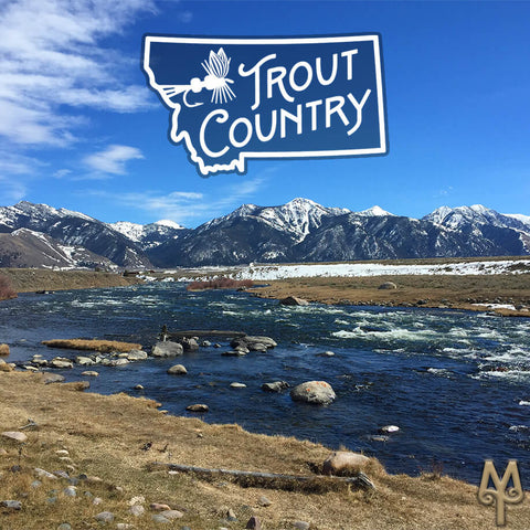 Madison River Trout Country photo by Montanan Treasures
