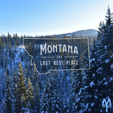 Montana The Last Best Place, Winter in Big Sky, Montana