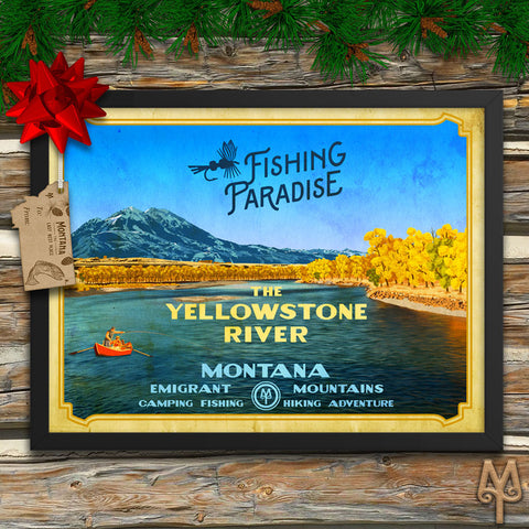 Montana Fly Fishing Posters by Montana Treasures