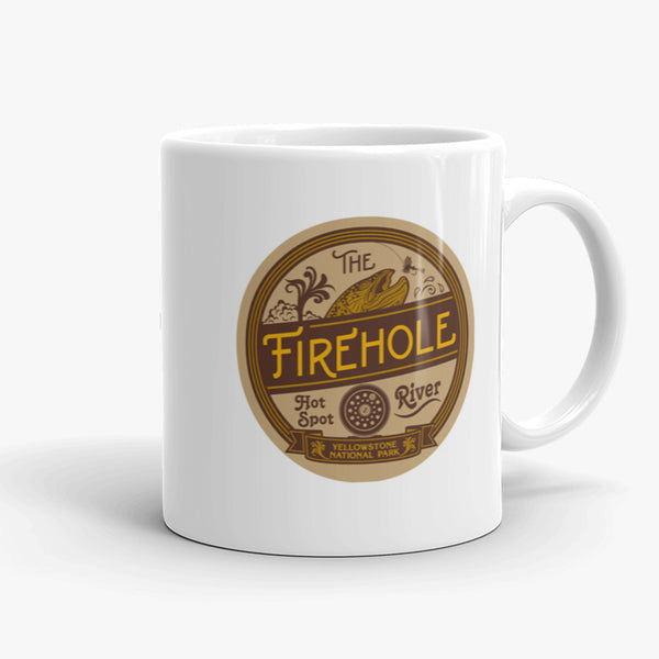 Firehole River, coffee mug, 11 oz, front