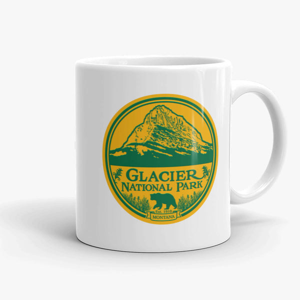 Glacier National Park, coffee mug, 11 oz, front