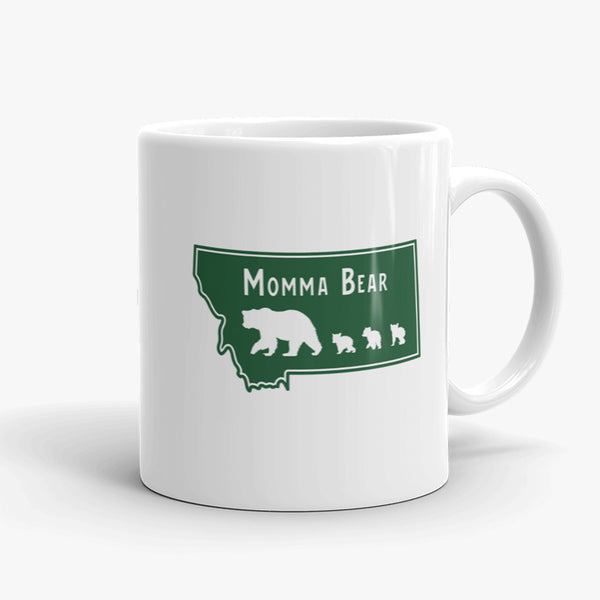 The Last Best Mom, coffee mug, 11 oz, rear