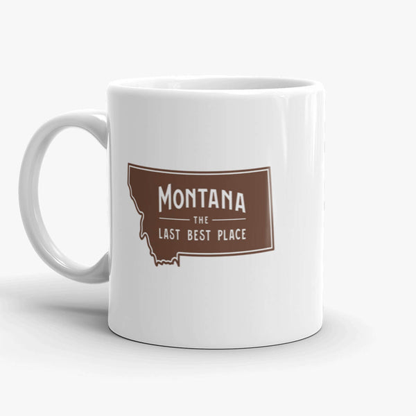 Montana, The Last Best Place, coffee mug, 11 oz, front