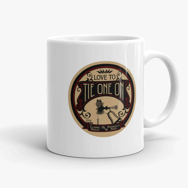 Tie One On, coffee mug, 11 oz, front