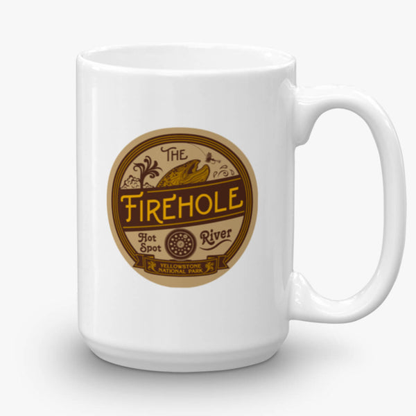 Firehole River, coffee mug, 15 oz, front
