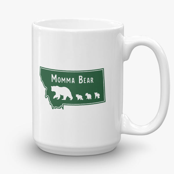 The Last Best Mom, coffee mug, 15 oz, rear