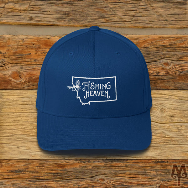 Montana Fishing Heaven, Fly Fishing Ball Cap