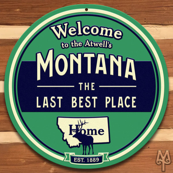 Custom Wall Sign by Montana Treasures