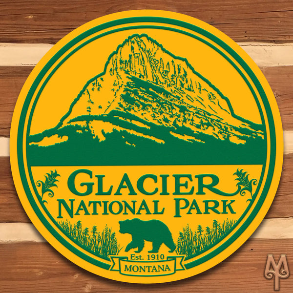 New Glacier National Park, Wall Sign