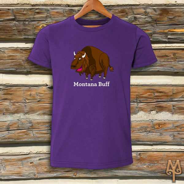 Montana Buff, Youth Short Sleeve T-Shirt