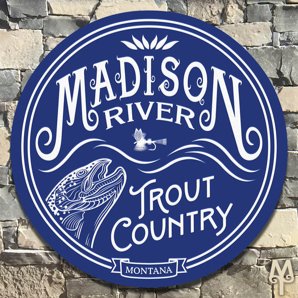 New Madison River, Wall Sign