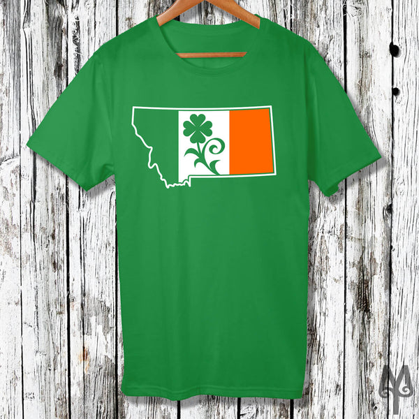 Montana Shamrock, Saint Patricks Day T-Shirt