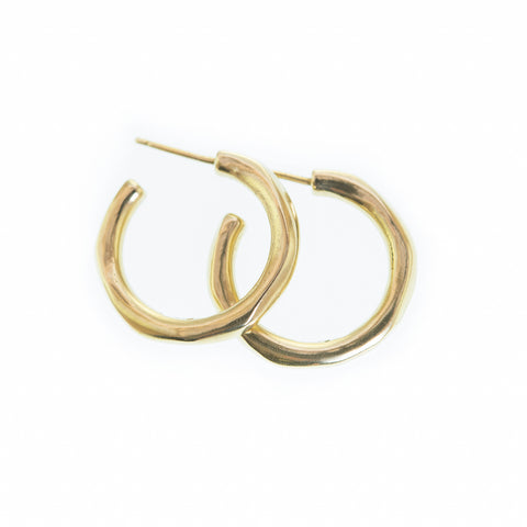 'Dinah' Bronze Hoops