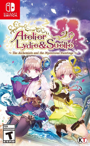 Atelier Lydie & Suelle: The Alchemists and the Mysterious Paintings Switch